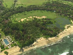 Four Seasons Hualalai Resort Stock Footage