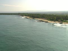 Hualalai Resort Coastline Stock Footage