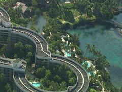 Hilton Waikoloa Village Resort Stock Footage