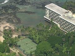 Keauhou Beach Resort Stock Footage