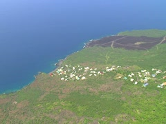 South Kona Coastline - stock footage