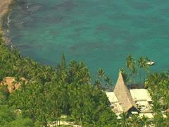 Kona Village Resort Stock Footage