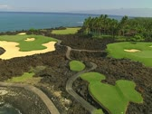 Stock Video Footage of Hualalai Resort Golf Course