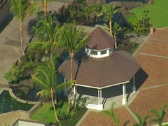 Queens' MarketPlace Waikoloa Beach Resort Stock Footage