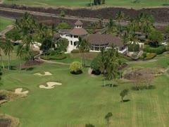Waikoloa Beach Resort Golf Course - Kings' Course Stock Footage