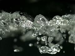 Boiling water in kettle, Slow Motion - stock footage