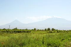 Ararat mountain Stock Photos