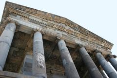 garni temple - stock photo