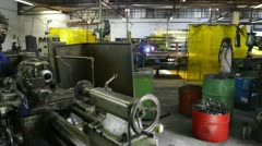 workshop labour - stock footage