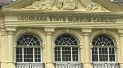 El Cabildo in New Orleans Stock Footage