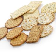 Cracker assortment Stock Photos