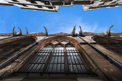 church of saint-severin in paris - stock photo