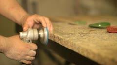 Granite works Stock Footage