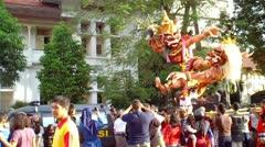 The Ogoh-ogoh Festival Stock Footage