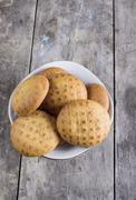 Ginger biscuits Stock Photos