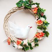 White bird model Stock Photos