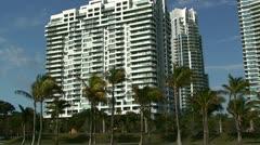 A condominium in Miami. Stock Footage