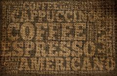 Stock Illustration of coffee print