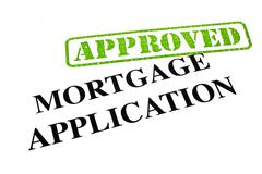 Mortgage Application Approved - stock illustration