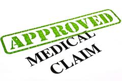 Medical Claim Approved Stock Illustration