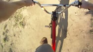 Stock Video Footage of Stock Footage: Slow Motion POV BMX Dirt Jumps - 2