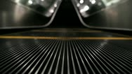 Stock Video Footage of Ascending Escalator 2