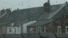 Winter day England Stock Footage