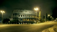 Stock Video Footage of timelapse colosseo,coliseum,colosseum