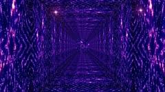 Shining Stars Tunnel 4 Stock Footage