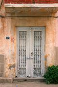 the door - stock photo