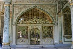 Topkapi palace Stock Photos