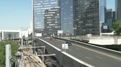 Paris, CBD, La Defense Stock Footage