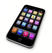 Stock Illustration of smartphone