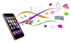 Smartphone Stock Illustration