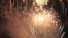 Fireworks Compilation HD - stock footage
