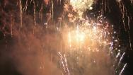 Stock Video Footage of Fireworks Compilation HD