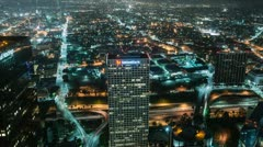 Time Lapse Overview of Los Angeles - stock footage