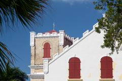 Frederick lutheran church in charlotte amalie Stock Photos