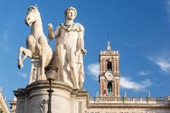Comune di roma town hall Stock Photos