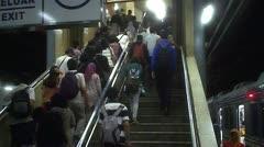 People Crowded Walking - stock footage