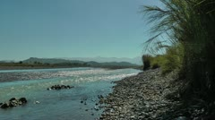 Sibalom river on Panay island in the Republic of the Philippines Stock Footage