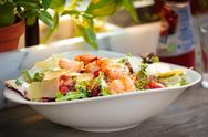 Prawn salad Stock Photos