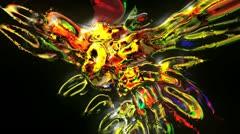 VJ-Set-Color-Explosion-Loop 4 Stock Footage
