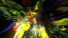 VJ-Set-Color-Explosion-Loop 18 Stock Footage