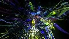 VJ-Set-Color-Explosion-Loop 23 Stock Footage