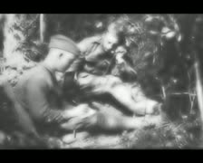 World War 1 - Day Routine - stock footage