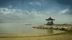 summer indonesian beach - stock footage