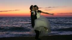 Happy Wedding Stock Footage