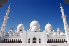 Sheikh Zayed mosque, Abu Dhabi,UAE Stock Photos