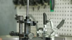 Spare Parts Check - stock footage